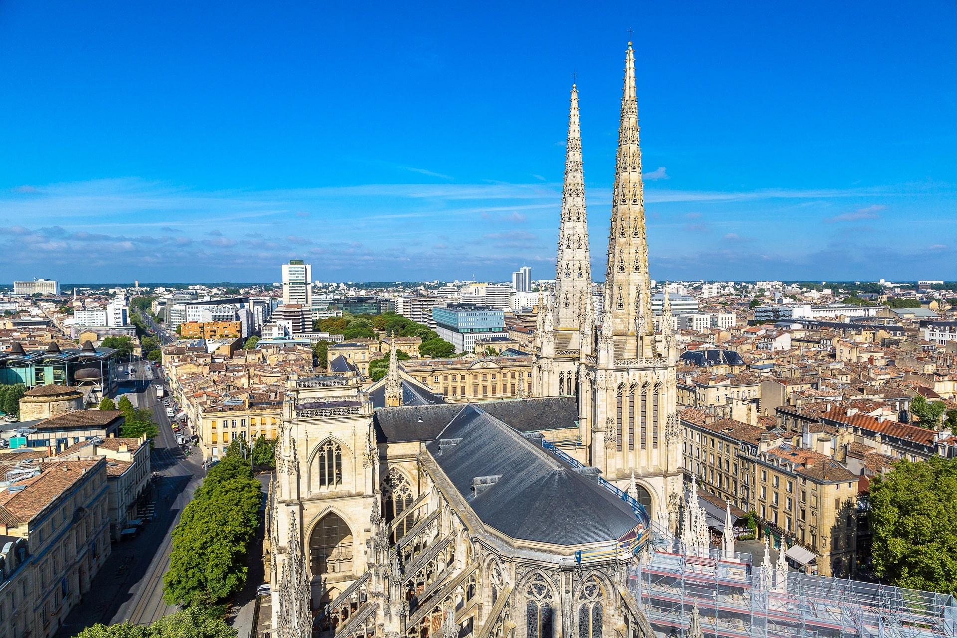 Bordeaux-France-Aerial