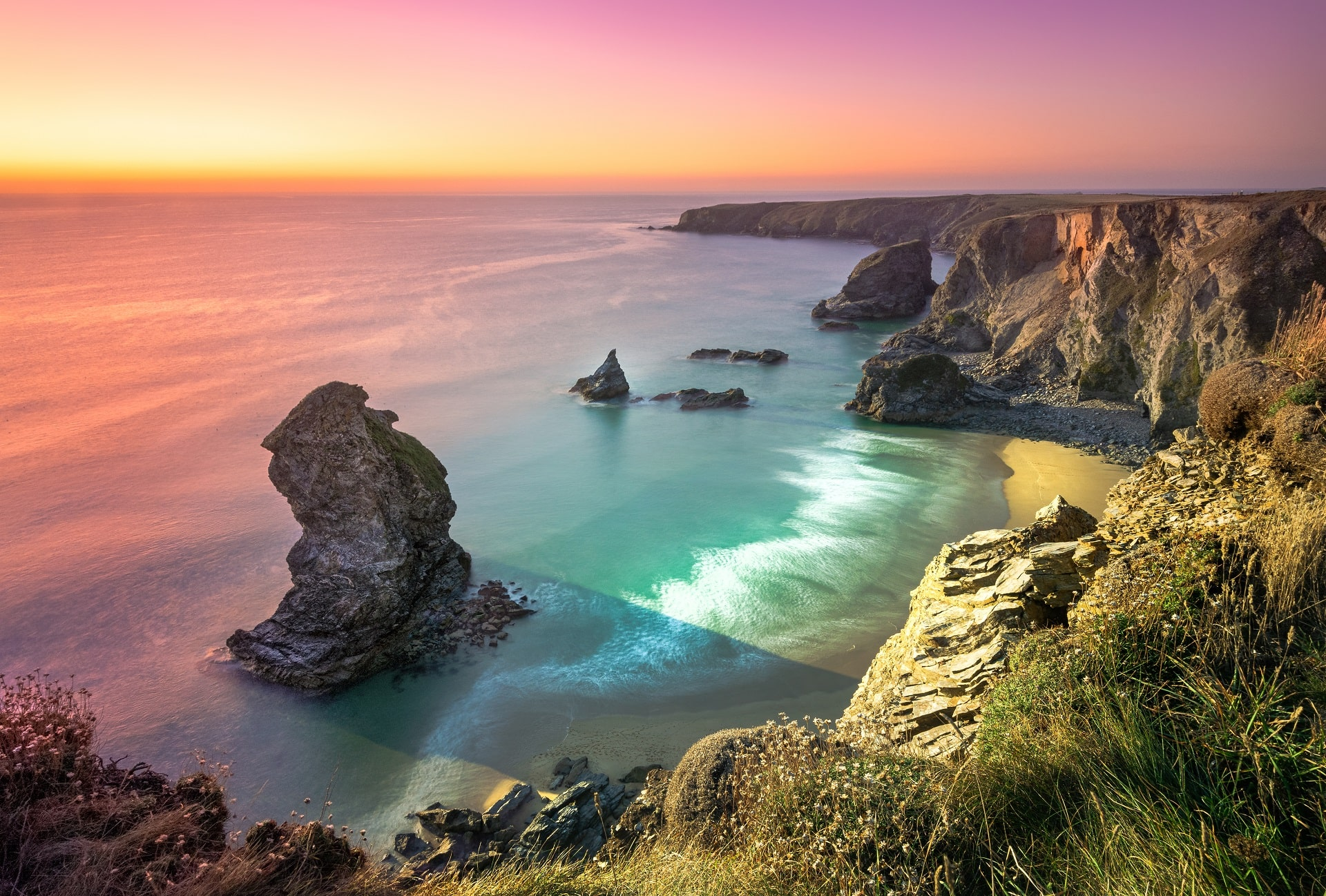 Cornwall-Coast-Sunset