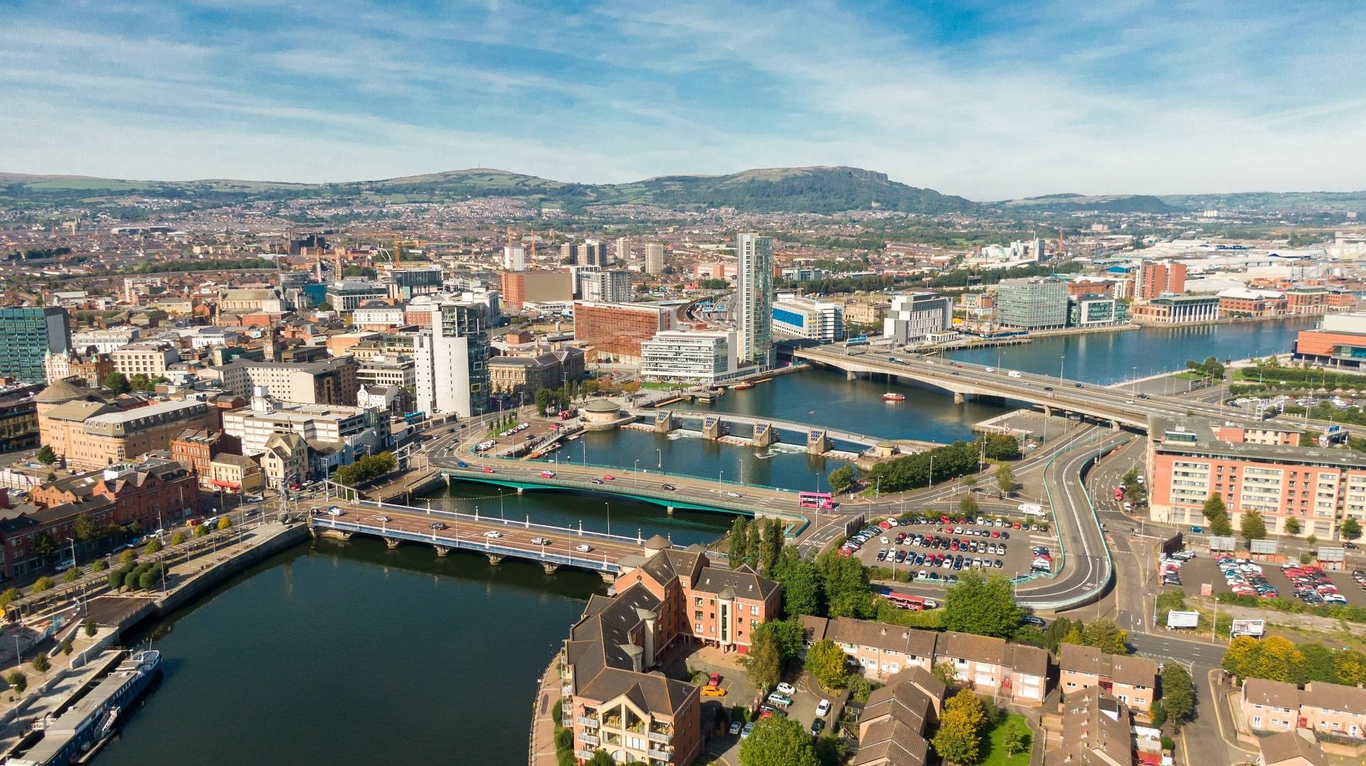 Belfast-Aerial