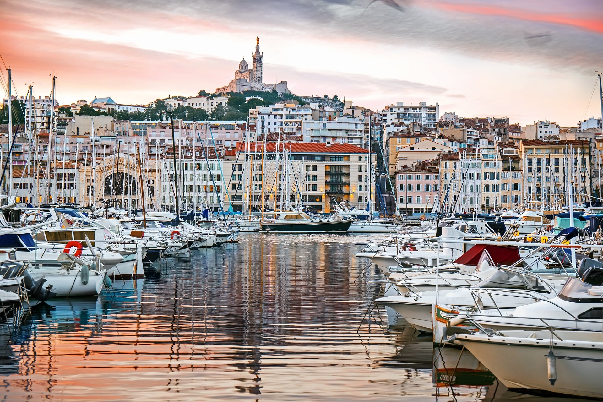 Marseille-France-Sunrise