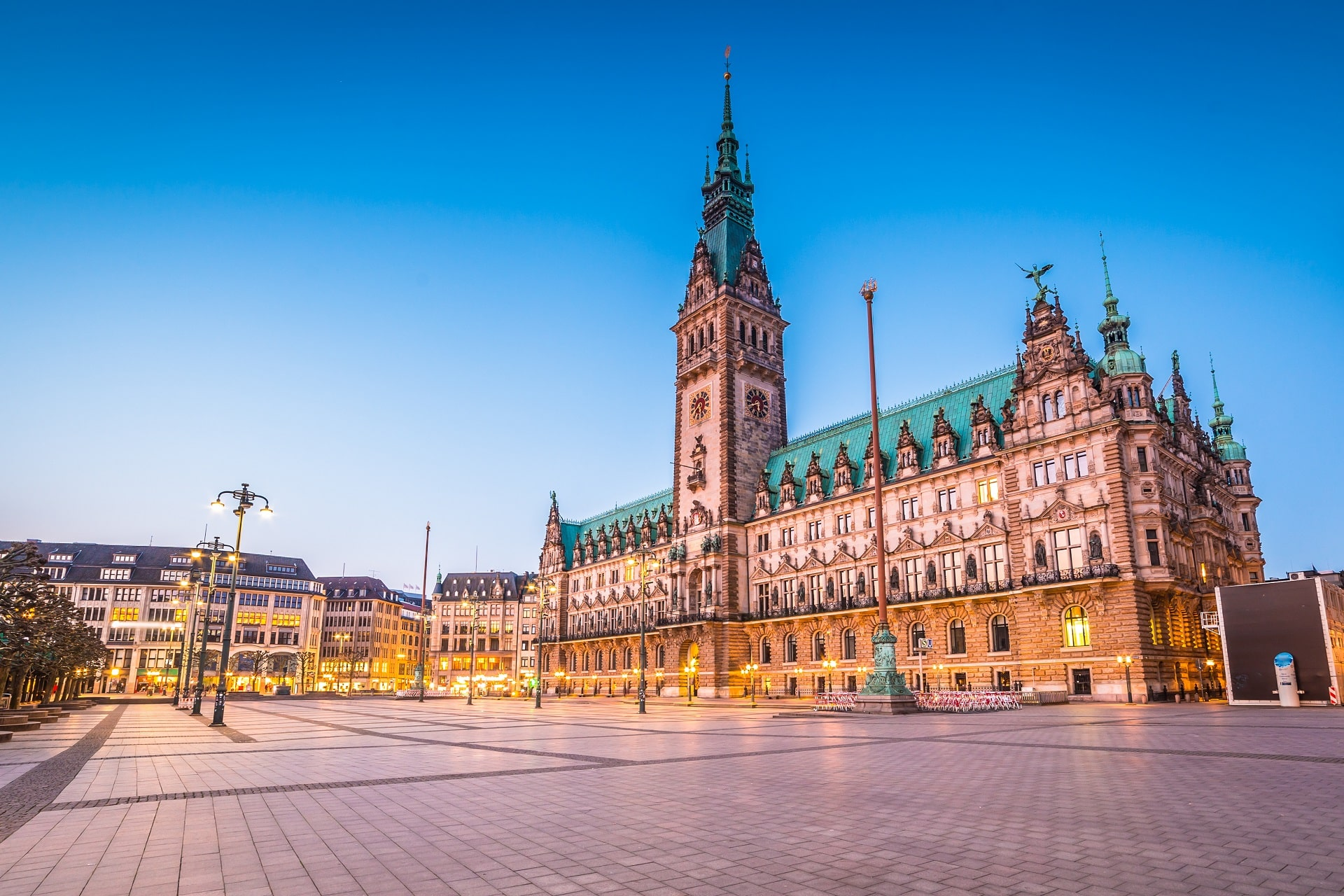 Hamburg-City-Hall