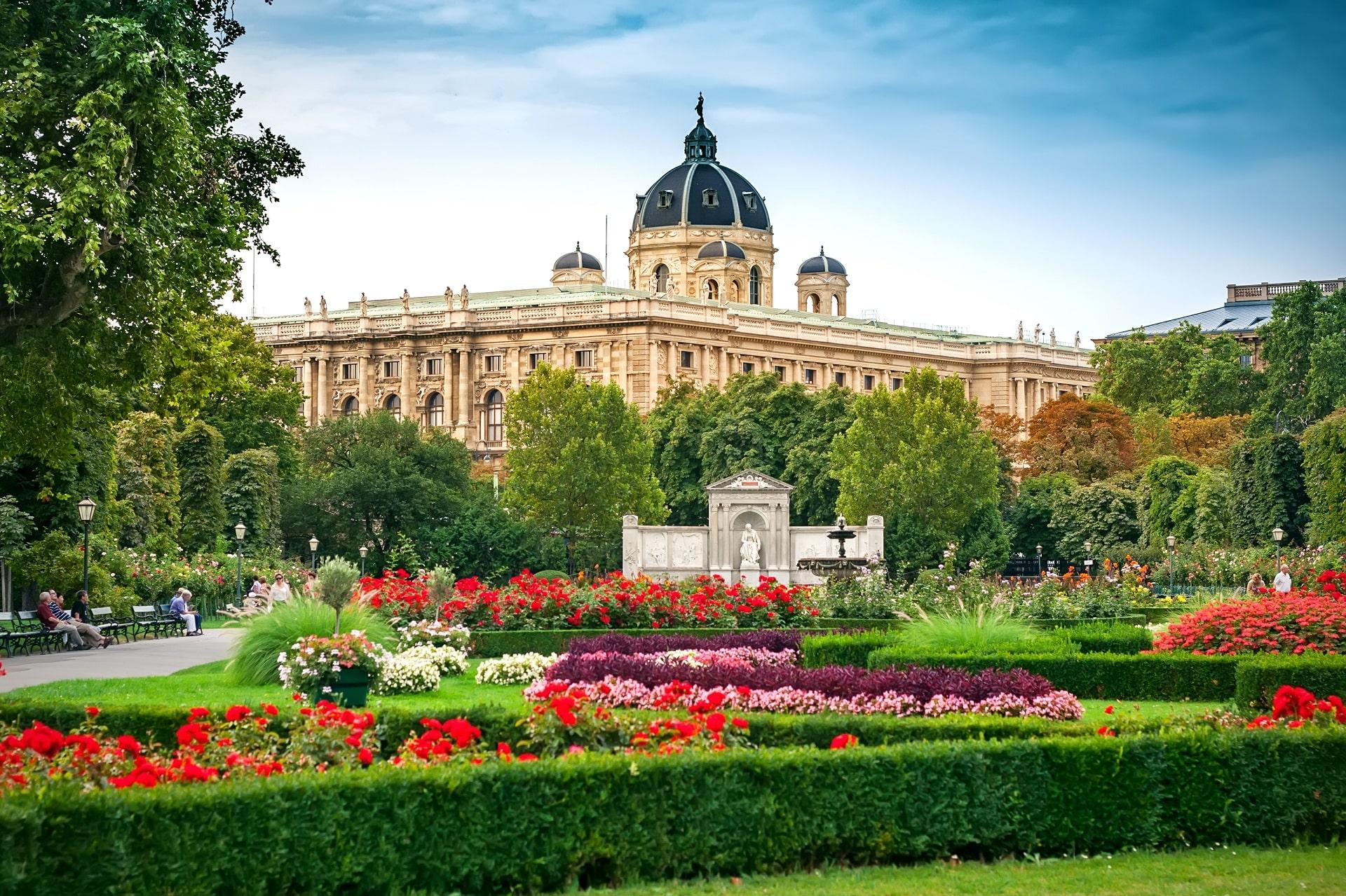 Vienna-Austria-Garden