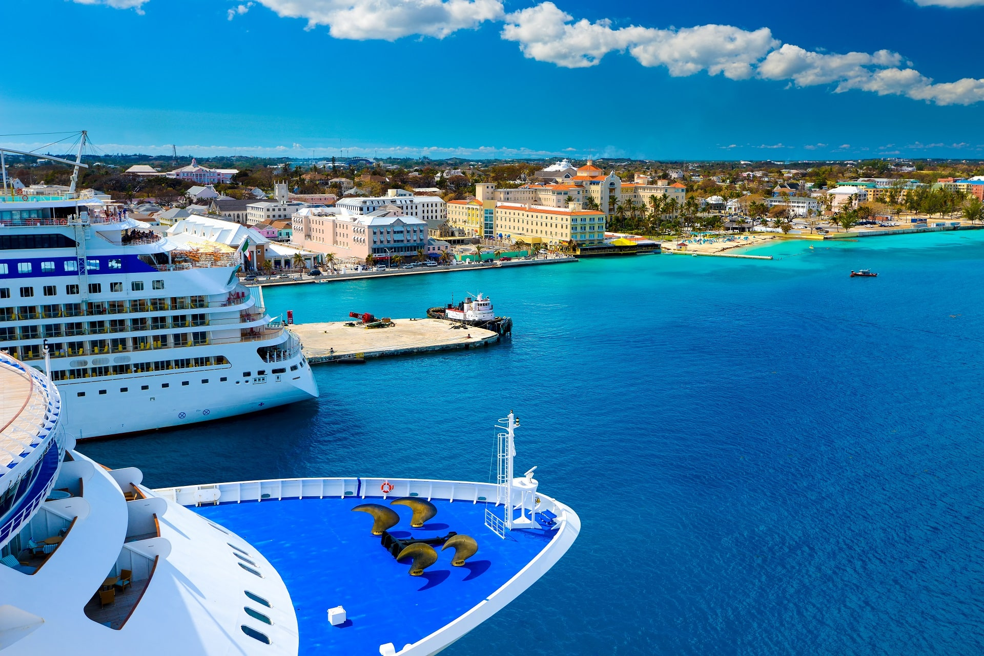 Nassau, Bahamas port