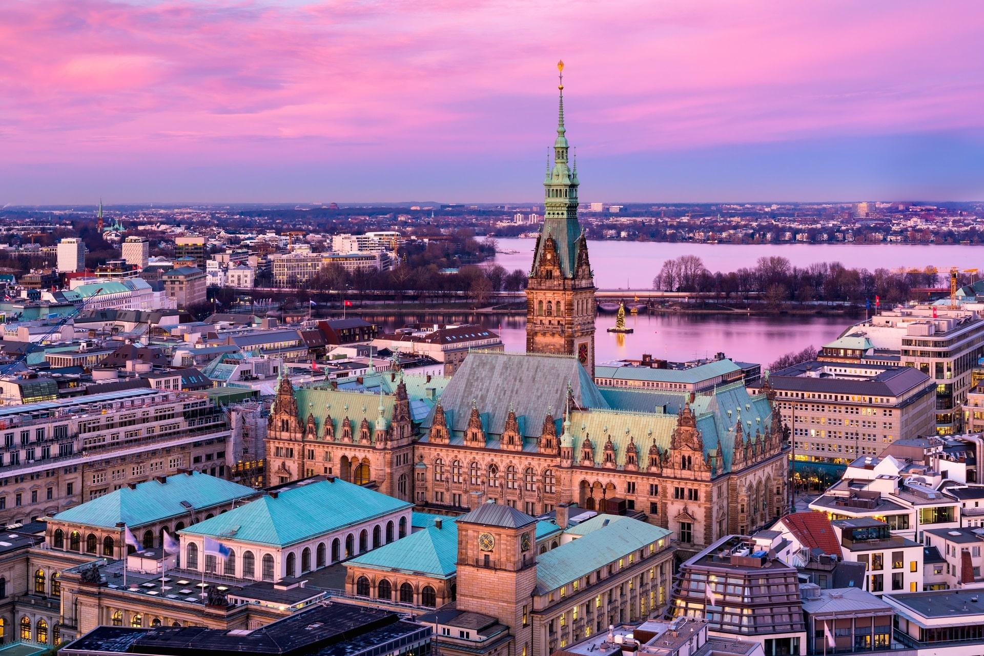 Hamburg-Dusk