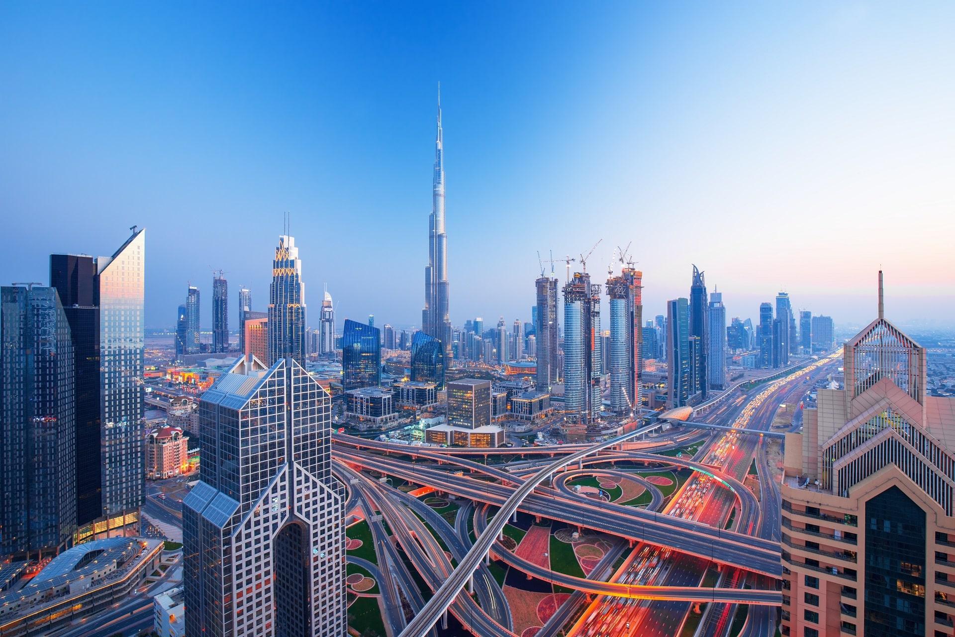 Dubai-Sunset