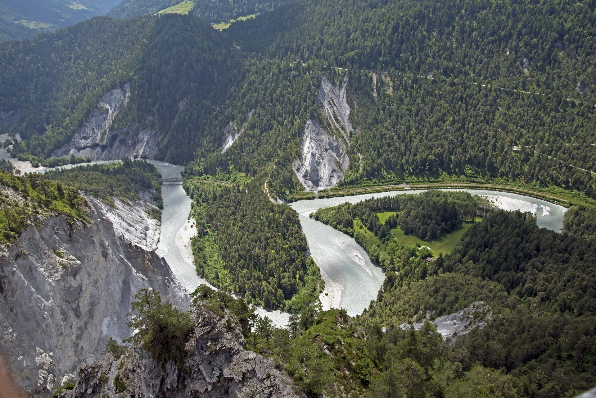 Rhine Gorge - Switzerland_203861452