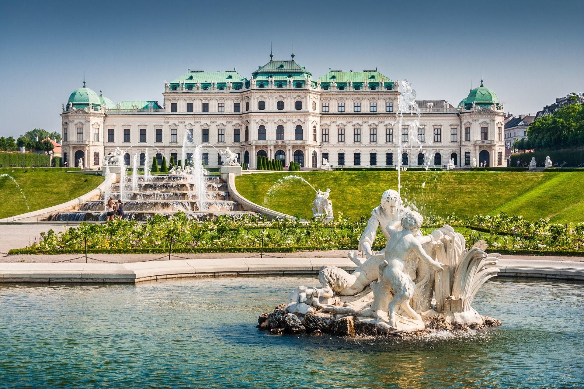 Vienna-Austria-Fountain